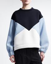 Stella McCartney Tricolor Scuba Sweatshirt