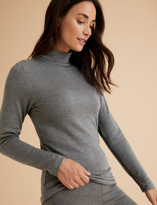 Marks and Spencer Heatgen Plus Thermal Turtle Neck Top