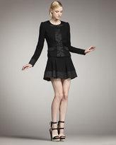 Rachel Zoe Marisa Trapunto-Stitch Skirt