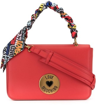 Love Moschino Square-Shaped Shoulder Bag