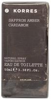 Korres Saffron, Amber, Cardamom Eau de Toilette 50ml
