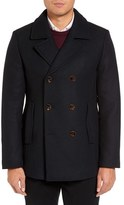 Ted Baker Men's Wool Blend Peacoat
