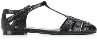 Church's Croc Embossed Sandals