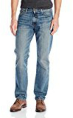Lucky Brand Men's 181 Relaxed Straight-Leg Jean in Mahogany 32x32