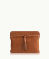 GiGi New York Piper Clutch French Nubuck Suede