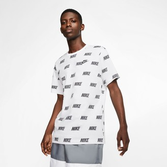 Nike Men's Sportswear Allover Print Graphic T-Shirt