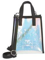 Kenzo Iridescent PVC Shopping Bag
