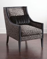 Old Hickory Tannery Milani Cheetah Chair