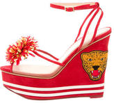Charlotte Olympia Team Spirit Wedge Sandals