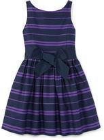 Ralph Lauren Cotton Sateen Sleeveless Dress