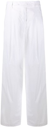 Maison Flaneur High Waist Wide-Leg Trousers