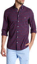 Gant Starboard Poplin Plaid Regular Fit Shirt
