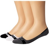 Sperry Signature Invisible Liner 3-Pair Pack Men's No Show Socks Shoes