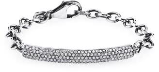 Sheryl Lowe Diamond Pave Bar Bracelet
