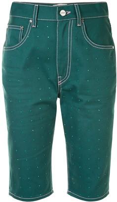 Kirin Knee-Length Denim Shorts