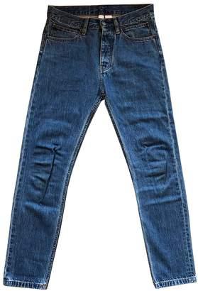 Calvin Klein Blue Cotton - elasthane Jeans