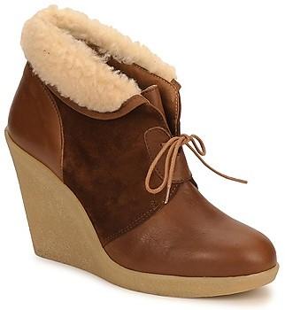 Petite Mendigote KALOU women's Low Boots in Brown