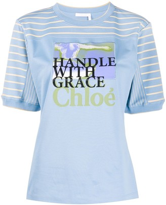 Chloé Femininities printed T-shirt