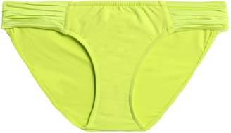 Seafolly Pleated Low-rise Bikini Briefs