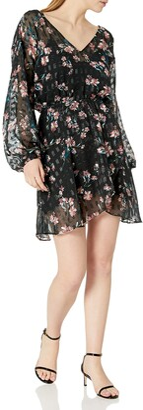 Devlin Women's Fast Fashion Women's Alexis Dress Midnight Lotus L