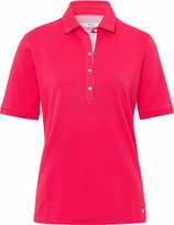 BRAX Damen Style Cleo Finest Pique Stretch Poloshirt