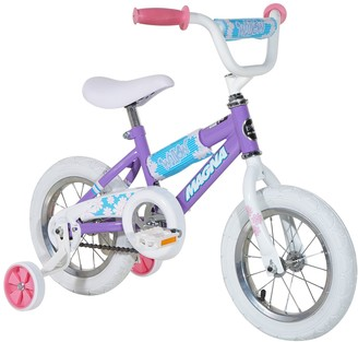 Kids Dynacraft Magna Willow 12-Inch Bike with Training Wheels