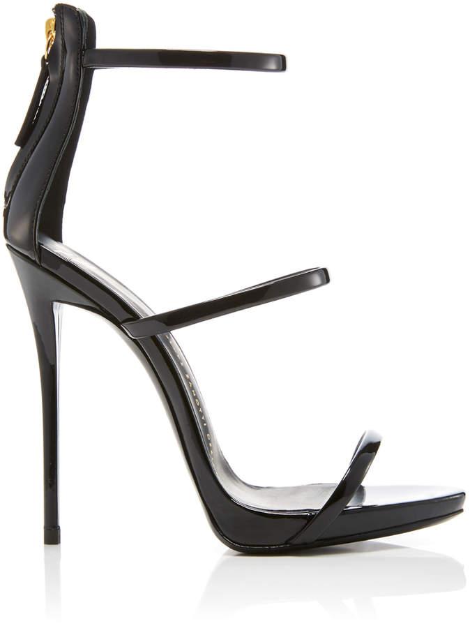 Giuseppe Zanotti Coline Patent Leather Sandals