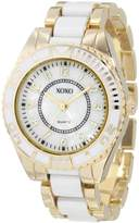 XOXO Women's XO5469 Gold-Tone and Bracelet Watch