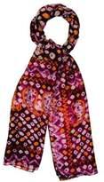 Figue Printed Silk Scarf