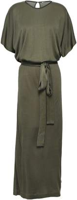 Ninety Percent Cutout Belted Jersey Maxi Dress