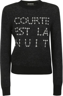 Saint Laurent Long Sleeves Sweater