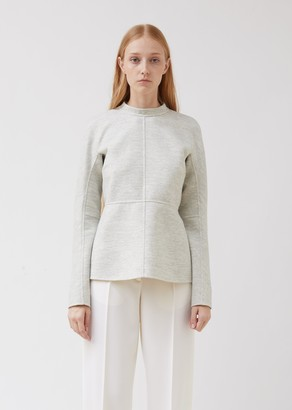 Jil Sander Paneled Soft Wool Top