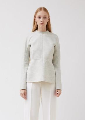 Jil Sander Paneled Soft Wool Top