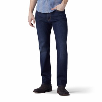 Lee Men's Big and Tall Performance Series Extreme Motion Athletic Fit Tapered Leg Jean