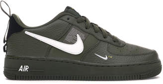 Nike Force 1 Low Utility Olive Canvas (GS)
