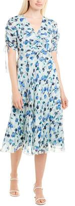 Diane von Furstenberg Eleonora Silk Midi Dress