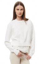 Rebecca Taylor Jacquard Sweatshirt