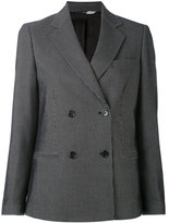 Paul Smith patterned double breasted blazer - women - Cotton/Viscose/Wool - 40