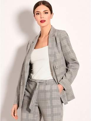 M&Co Check blazer jacket