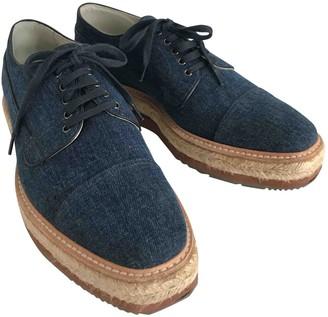 Prada Blue Denim - Jeans Lace ups