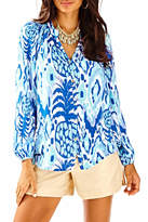 Lilly Pulitzer Button Front Elsa Top