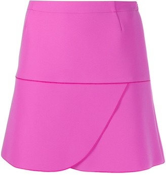 Gianluca Capannolo Draped Mini Skirt