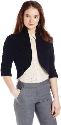 Magaschoni Women's Cotton/Cashmere Shrug