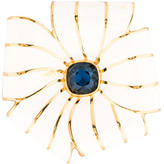 Kenneth Jay Lane Floral Brooch