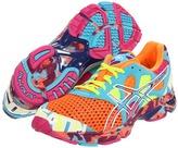 Asics GEL-Noosa Tri 7 (Neon Orange/White/Turquoise) - Footwear
