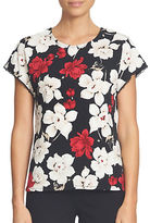CeCe Cosmic Floral Top