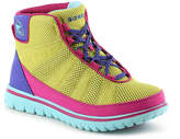 Sorel Women's Tivoli Go High-Top Sneaker -Yellow/Purple/Fuchsia