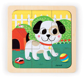 Janod Titus the dog puzzle