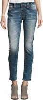 Miss Me Skinny Acid-Wash Skinny Jeans, Blue