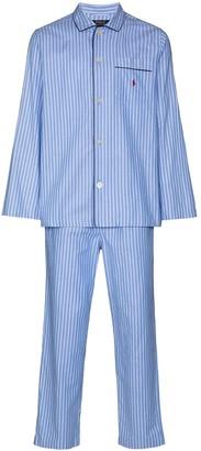 Polo Ralph Lauren Striped Print Pajama Set
